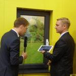 Schellenberg, Interview, Personen, Gelb, Mikrofon, Smart Home
