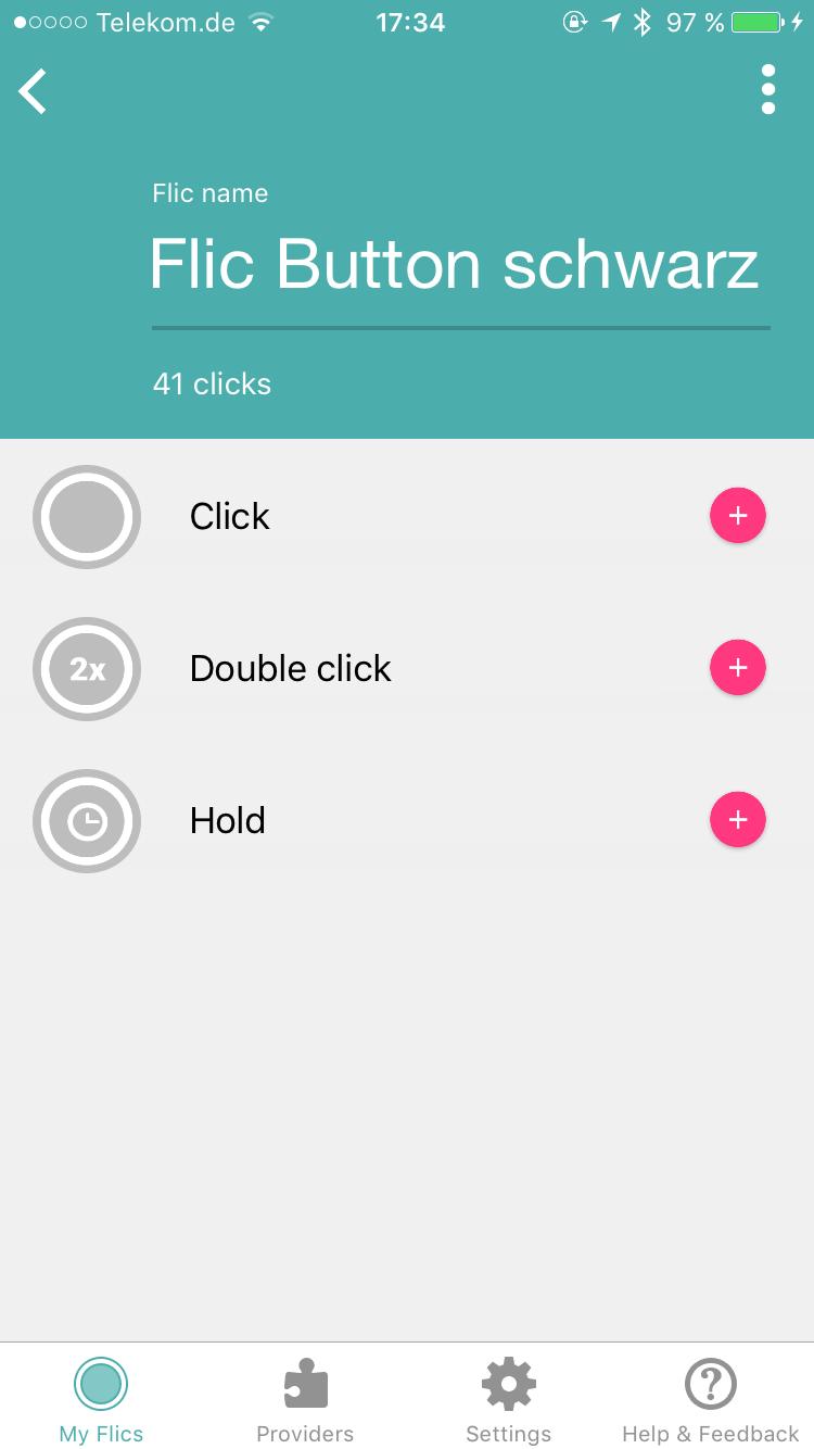 Flic-Button-App