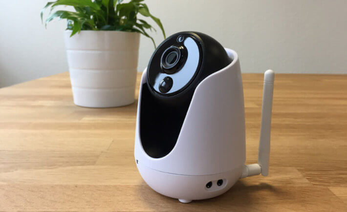 Rademacher HD-Kamera, Tisch, Pflanze, Schwarz, Weiß,