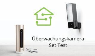 Überwachungskamera Set im Test