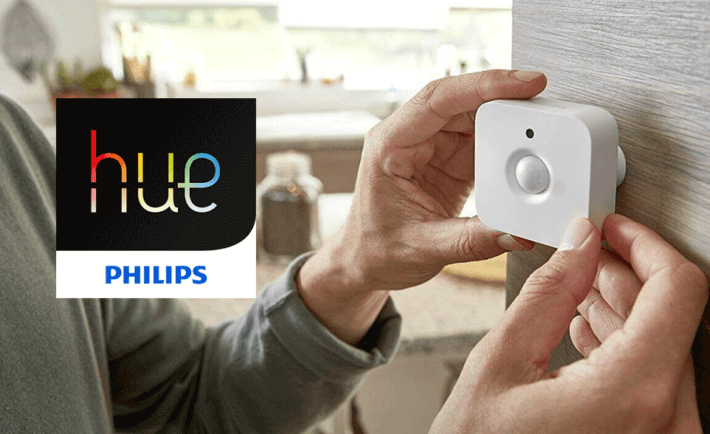 philips hue bewegungsmelder jetzt verf gbar. Black Bedroom Furniture Sets. Home Design Ideas