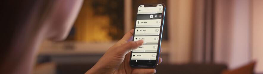Philips Hue Bluetooth Lampen per App steuern