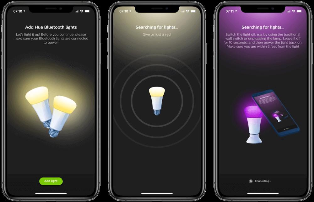 Philips Hue Bluetooth App für einfache Bedienung