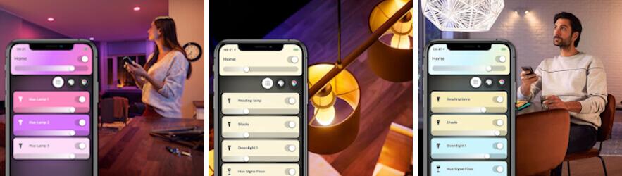 Rademacher mit Philips Hue App und Bluetooth Funktion