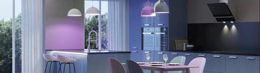 Philips Hue Lampen zusammen mit Rademacher HomePilot