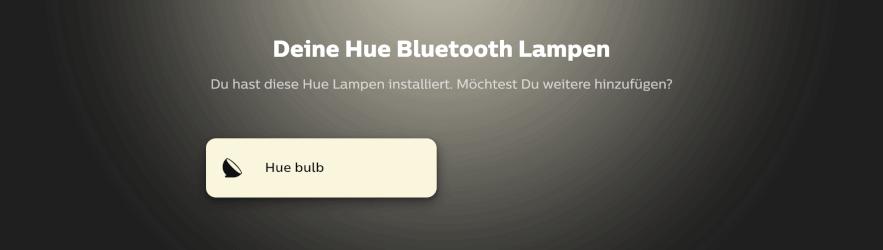 Philips Hue Go installiert