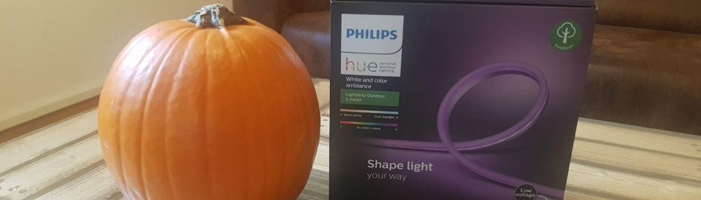 Halloween Kürbis Philips Hue Outdoor Lightstrips