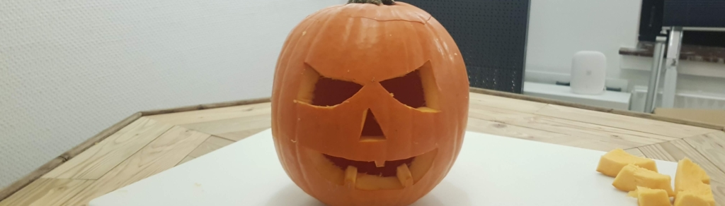 Step 5 Kürbis haltbar machen Halloween