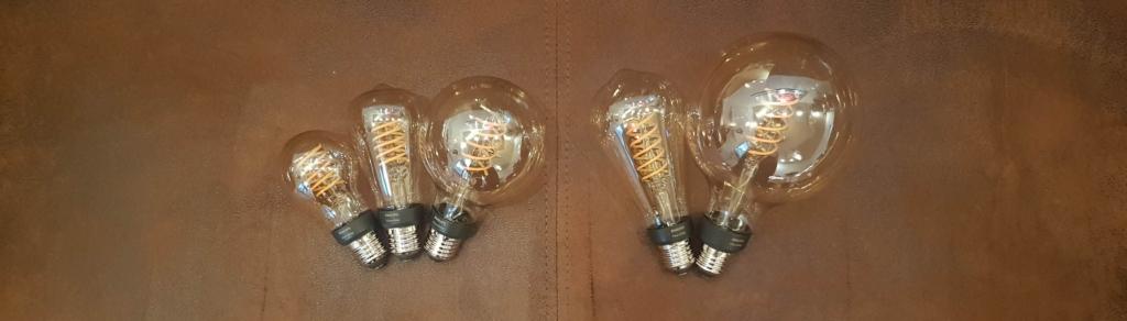 Philips Hue Filament Leuchtmittel Übersicht