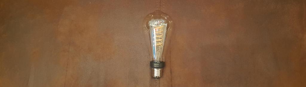 Philips Hue Giant Filament Edison Leuchtmittel