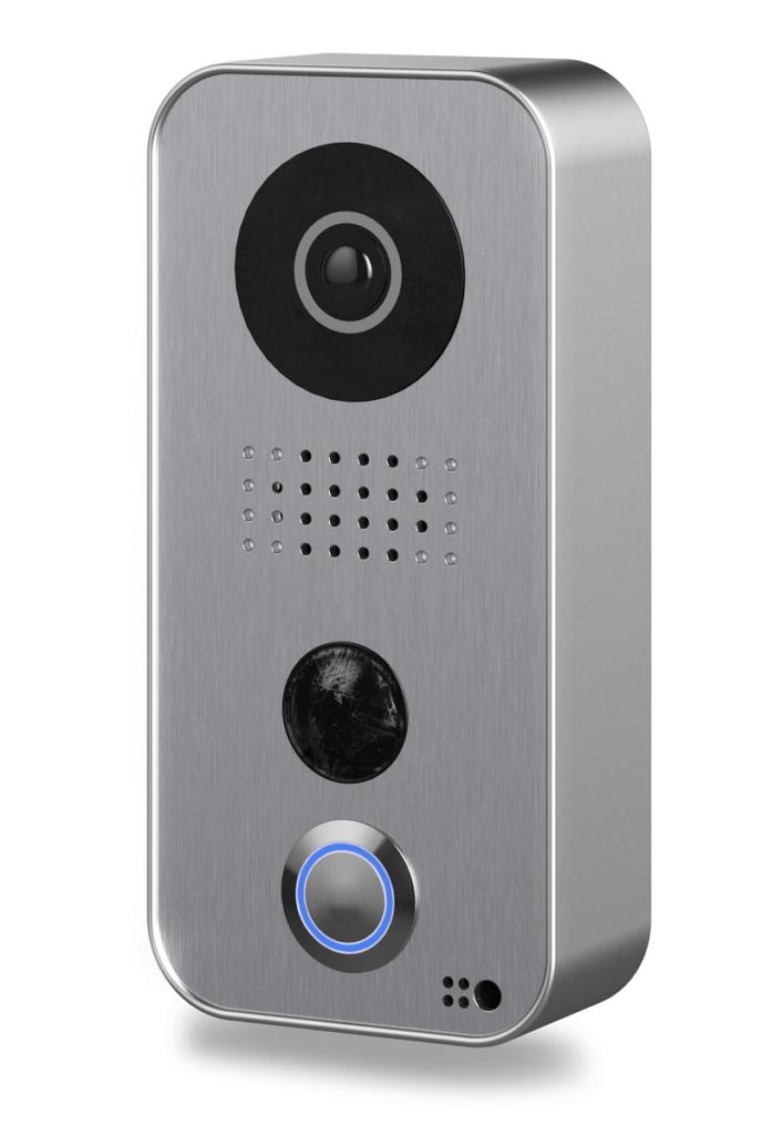Doorbird Video-Türklingel silber grau