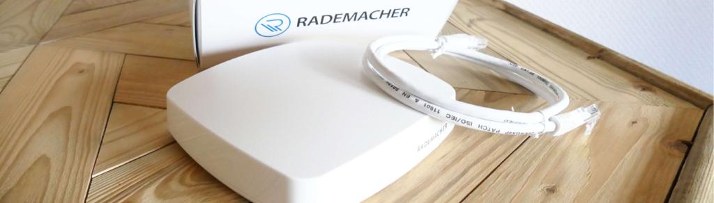 Rademacher HomePilot 3 Produkt Verpackung Netzkabel