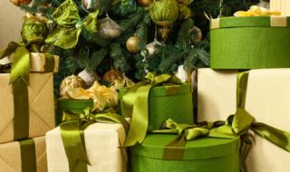 smarte Weihnachtsgeschenke Weihnachtsbaum grüne Weihnachtsgeschenke