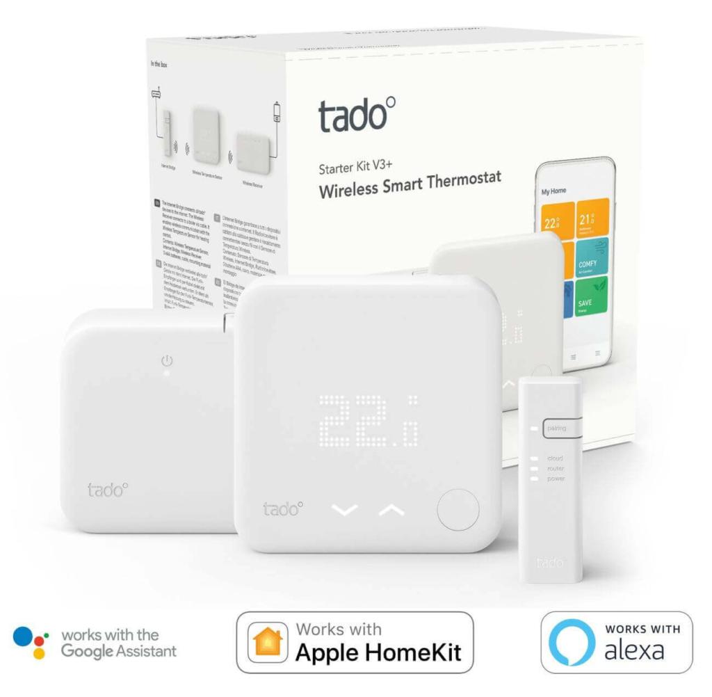 tado Wireless Smart Thermostat Produktansicht