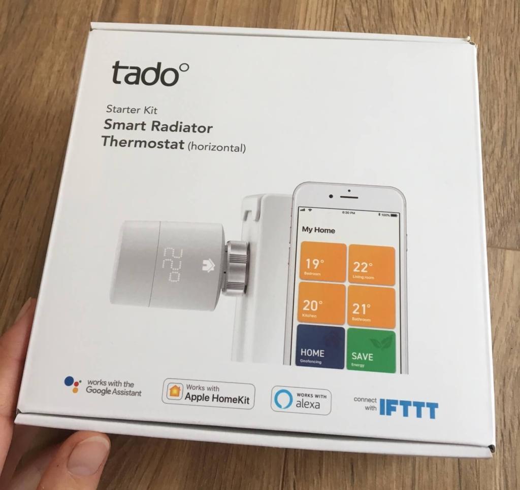 tado Smart Radiator Thermostat Verpackung
