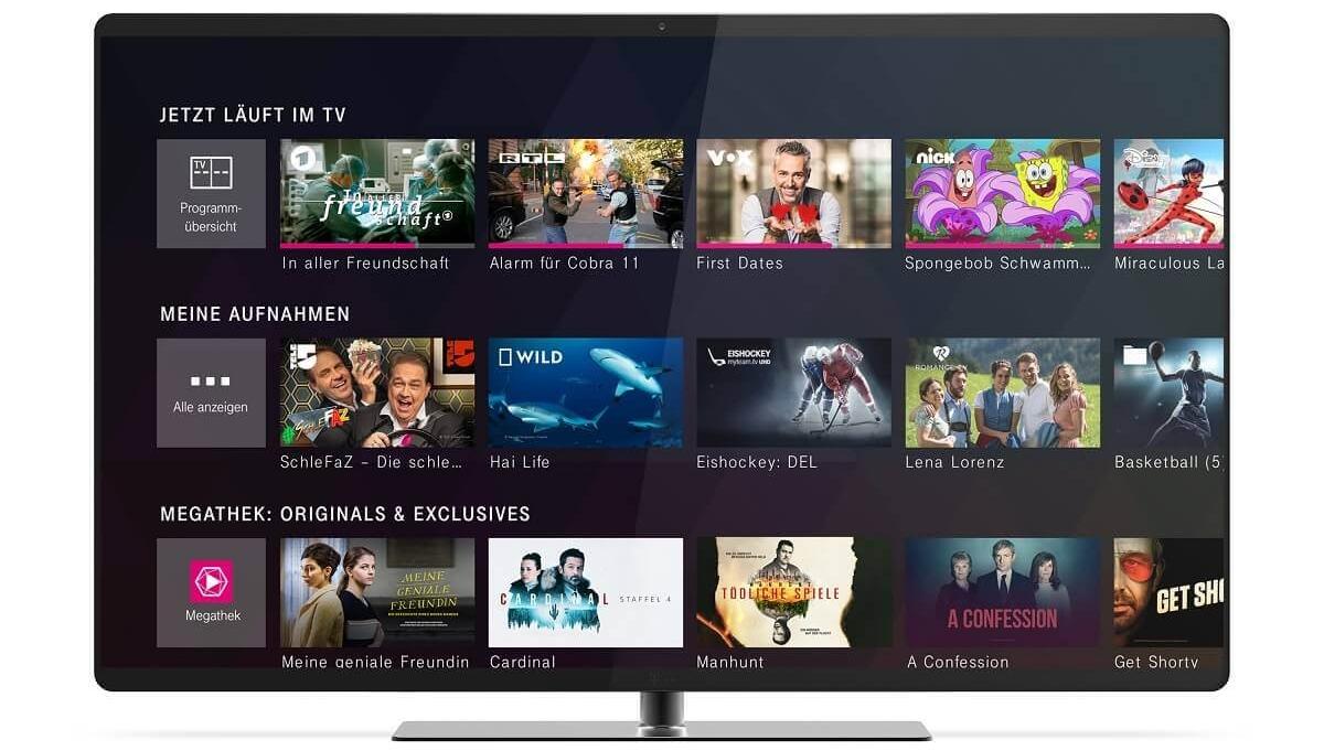 Telekom MagentaTV Stick Fernseher Programm