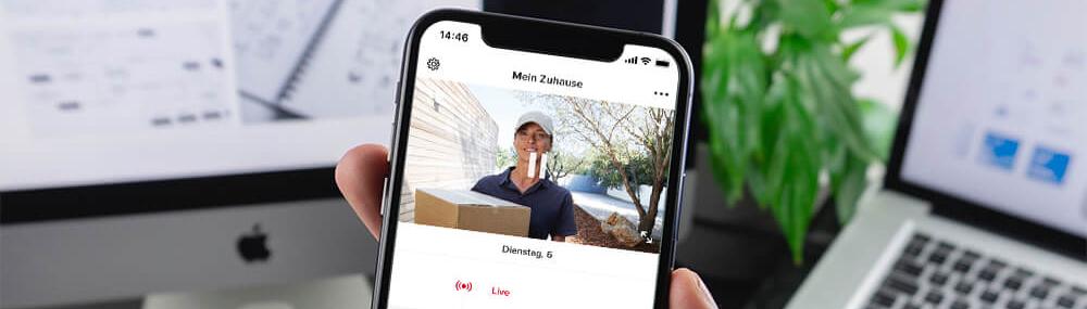 Netatmo Türklingel Smartphone Besucher
