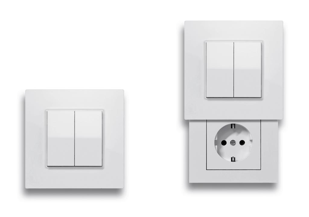 Friends of Hue Lichtschalter und Versteckdose mit Lichtschalter