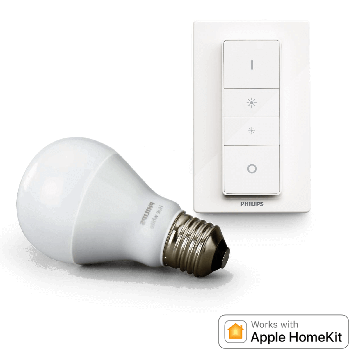 philips hue led wireless dimming kit hier bestellen smart home ger te hier online. Black Bedroom Furniture Sets. Home Design Ideas