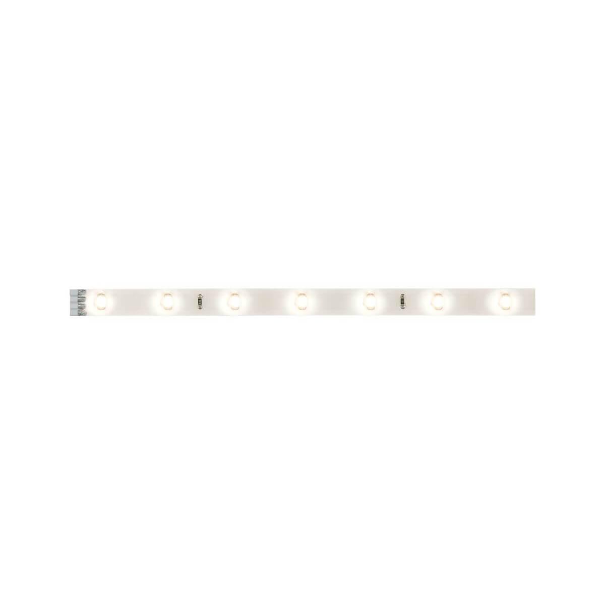 Paulmann YourLED Stripe Set 3x 97 cm Warmweiß IP44 Weiß, klar beschichtet