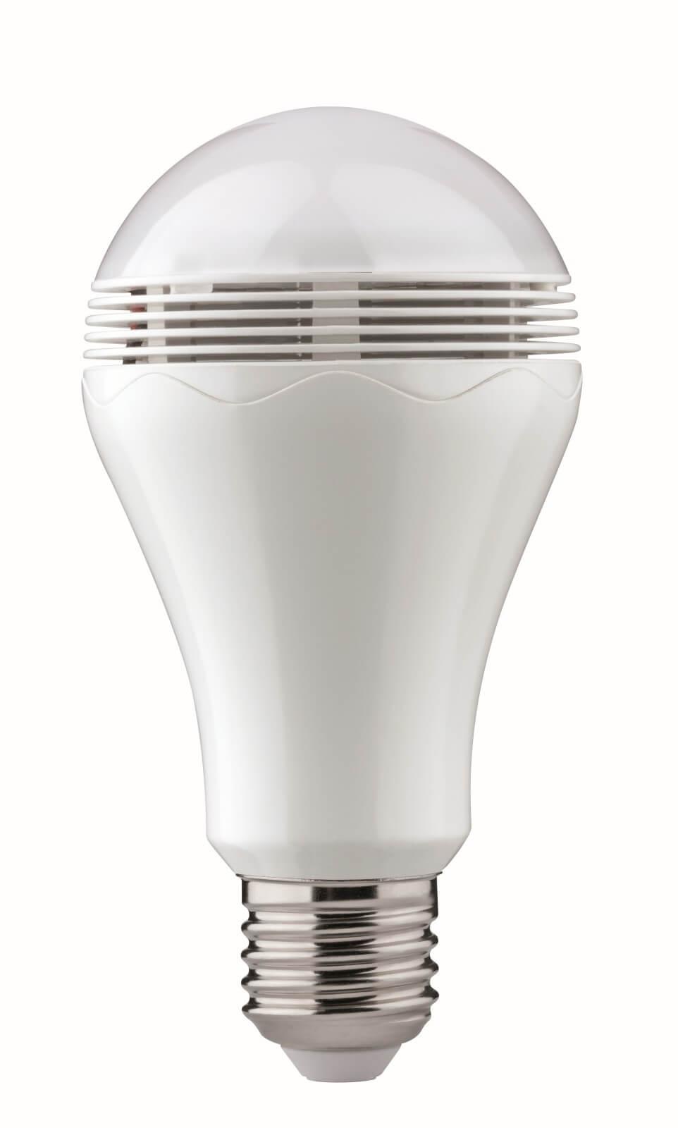 Paulmann LED-Lampe mit integriertem Bluetooth-Lautsprecher | Smart ...