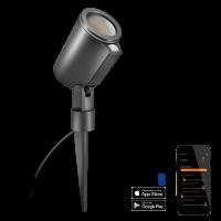 Steinel LED Strahler Spot Garden Gartenspot Sensor Connect, Aluminium, 7 W, Anthrazit