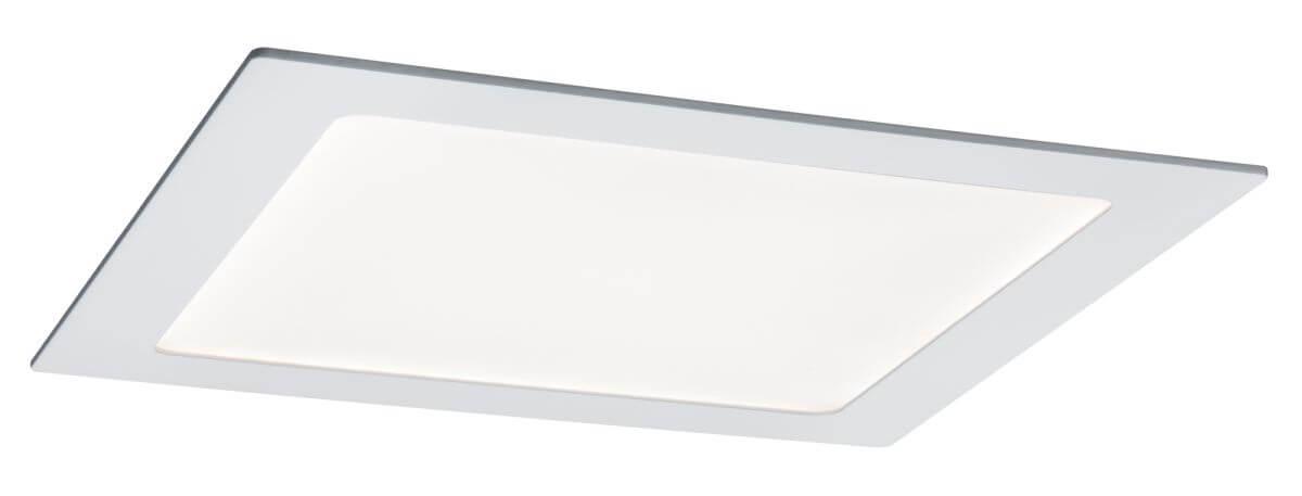 Paulmann LED Einbaupanel eckig 13,5 W Weiß mit tunable White Weißlichtsteuerung per App
