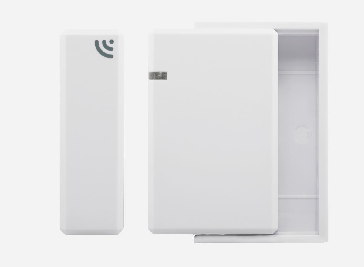Schellenberg Smart Home Funk Fensterkontakt und Türkontakt Öffnungssensor