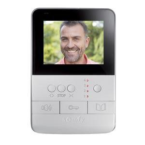 Somfy Videosprechanlage Visiophone V100 Türklingel mit Kamera und Gegensprechanlage