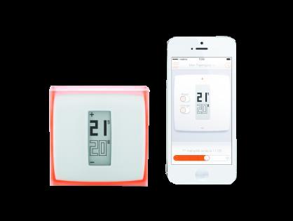 Netatmo Thermostat mit App für iPhone, Android Smartphone | Alexa, Apple HomeKit, Google Assistant