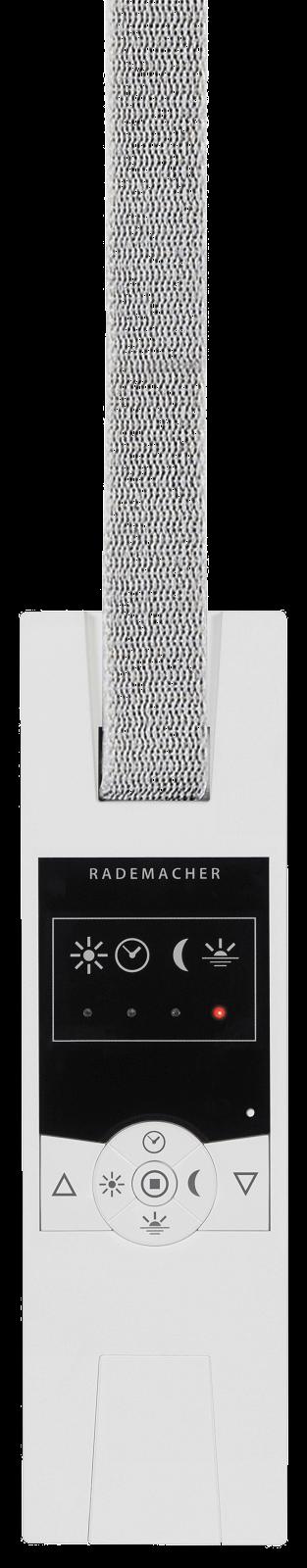 Rademacher Funk-Gurtwickler RolloTron Comfort in ultraweiß, Unterputz, mit Display, für Maxi-Gurte (15 mm Breite) DuoFern-Funk