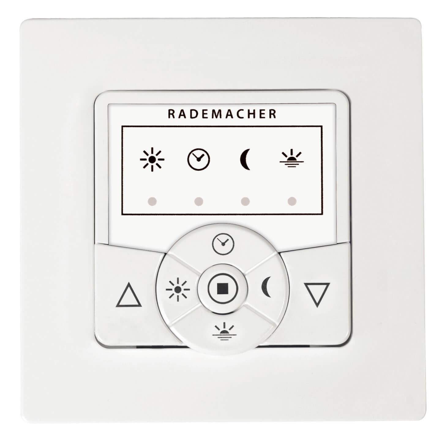 Rademacher DuoFern Troll Basis 5615 smarte Steuerung, ultraweiß, mit Tastfunktion und Uhr