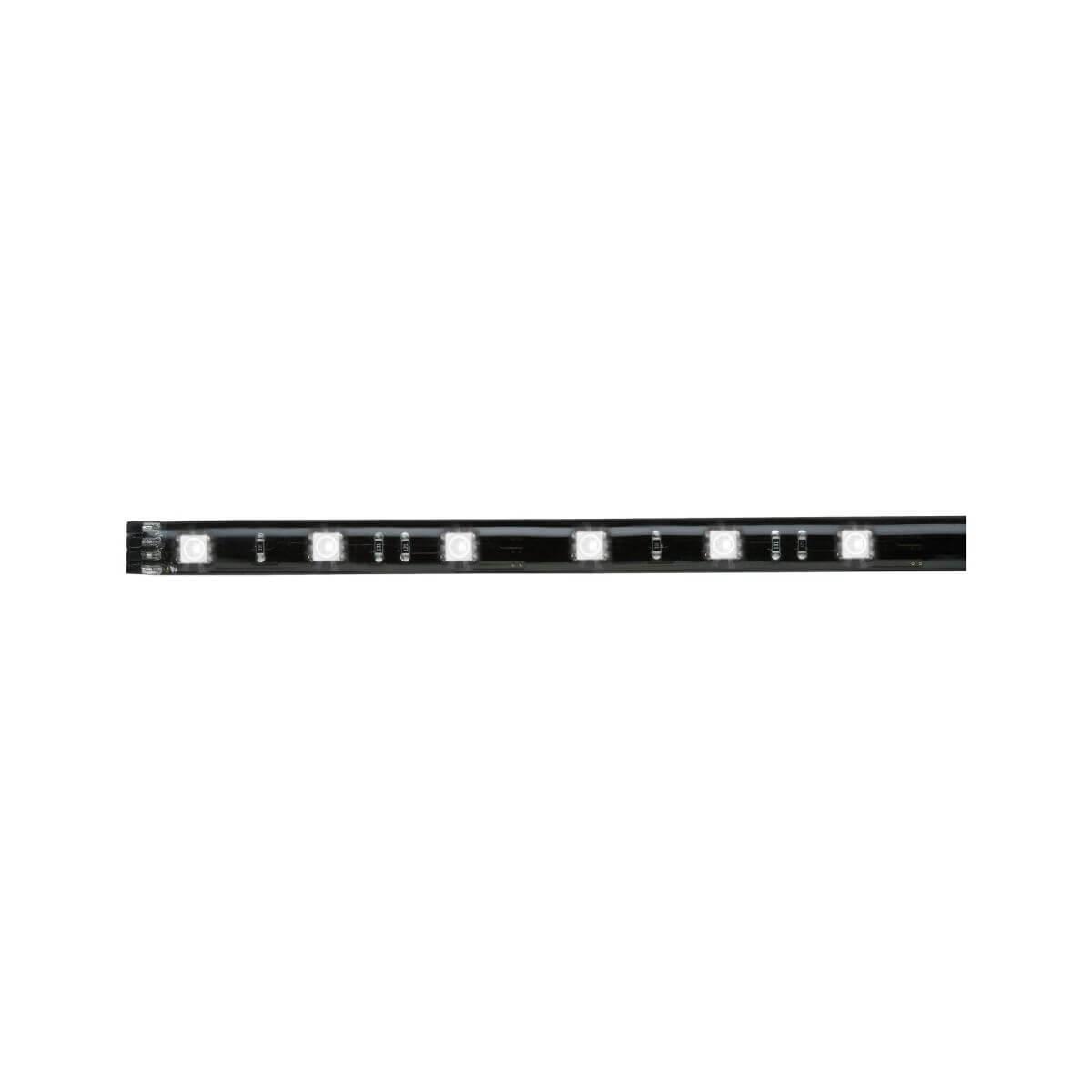 Paulmann YourLED Stripe Set 3x97 cm RGB IP44 Schwarz, klar beschichtet, 3 Stück
