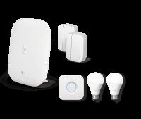 Paket Sicherheit & Licht Magenta SmartHome