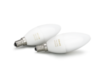 Philips Hue White Ambiance LED E14 Doppelpack weiß