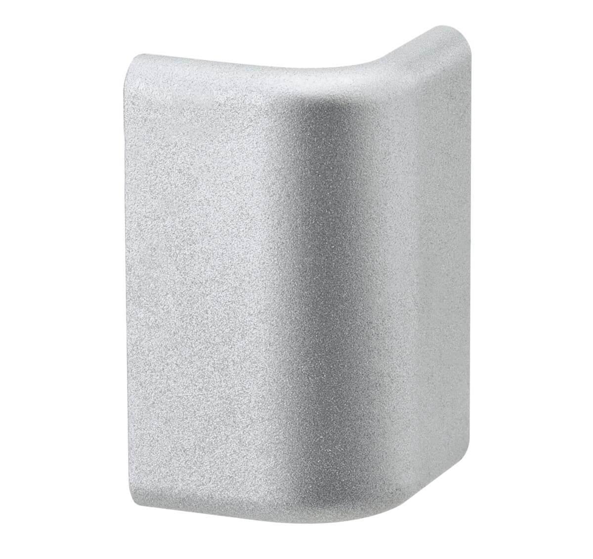 PaulmannDuo Profil Cap, 2er Pack, Alu matt, Kunststoff