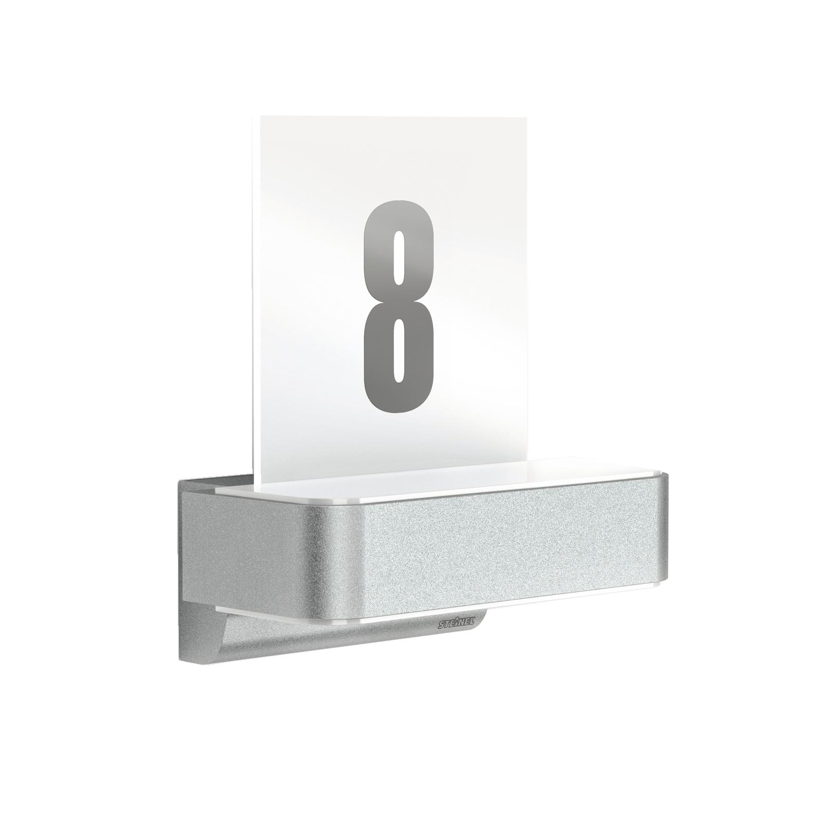 Steinel L 820 iHF Sensor-LED-Wandleuchte, Up-/Downlight + Hausnummern-Panel
