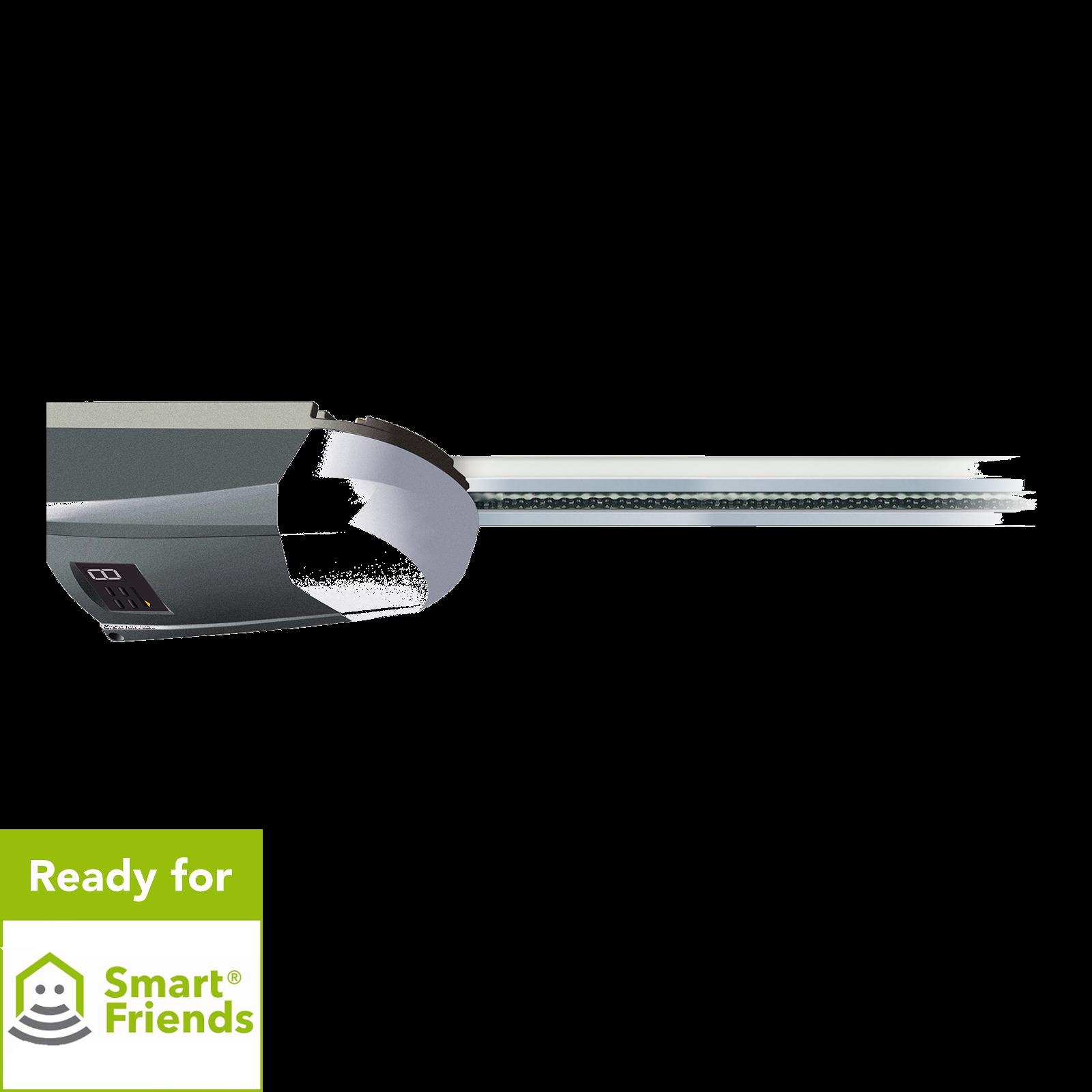 Schellenberg Smart Home Garagentorantrieb Smart DRIVE 10 mit zusätzlichem 868 MHz Bidirektionalen Funk
