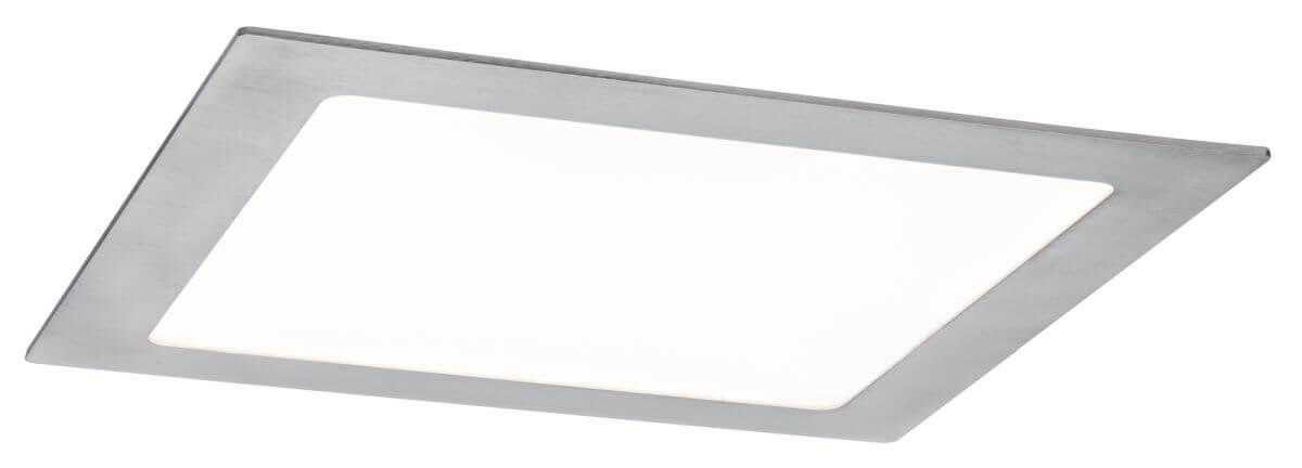 Paulmann LED Einbaupanel eckig 3,5 W Eisen mit RGBW Farblichtsteuerung per App via Bluetooth