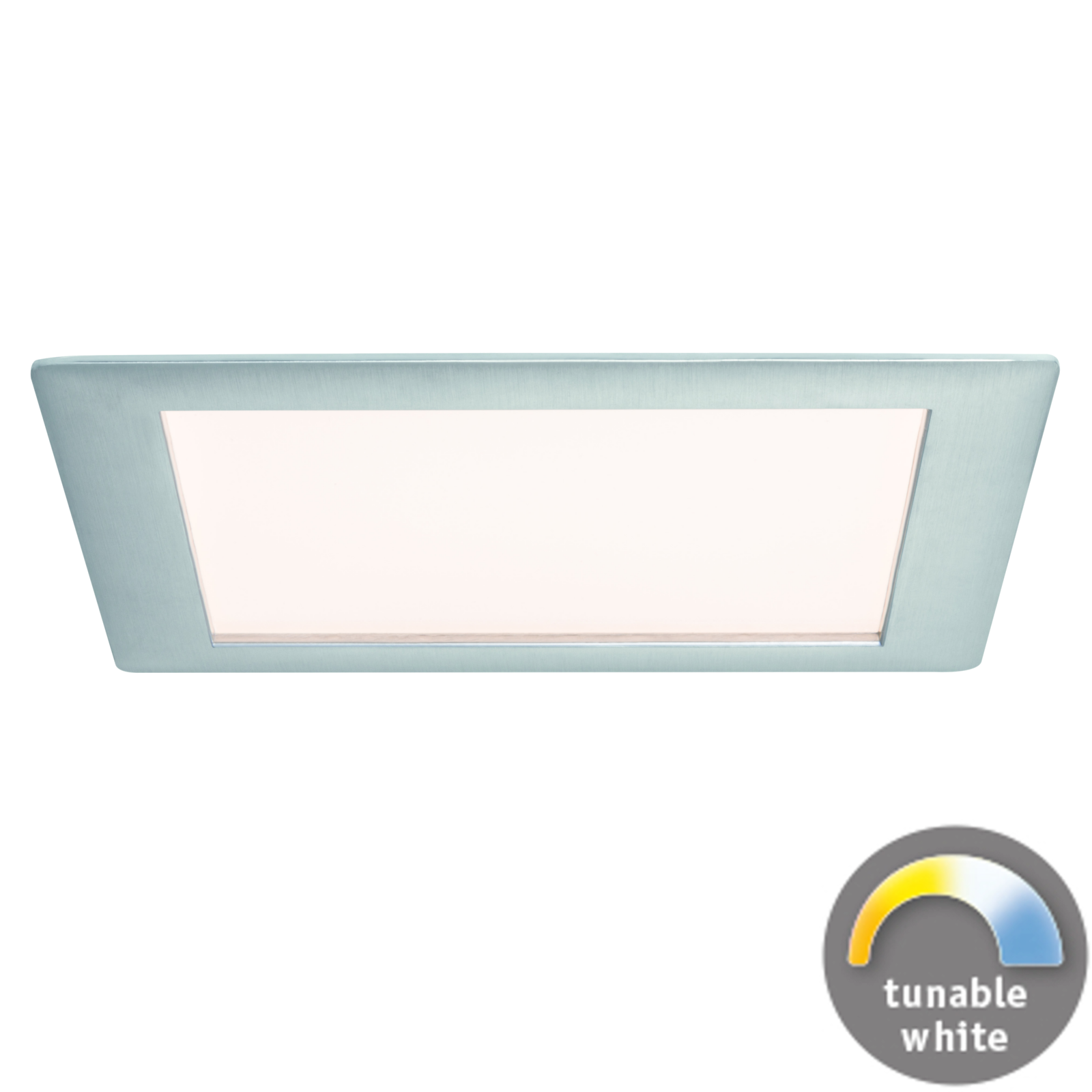 Paulmann LED-Einbaupanel eckig - Weißlicht-Steuerung & App-steuerbar
