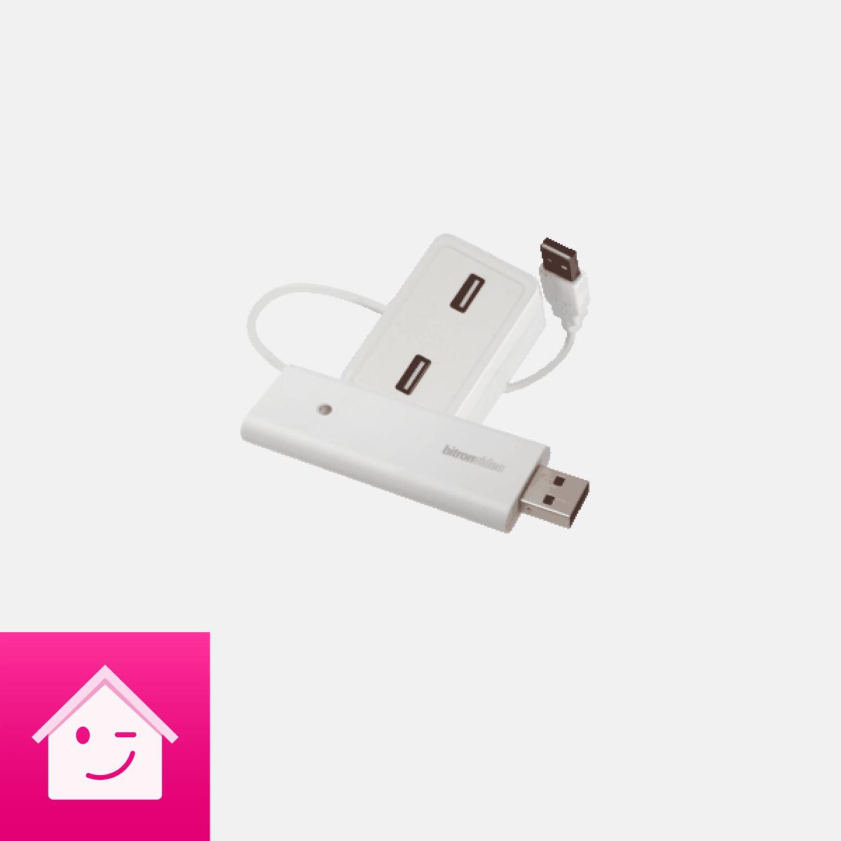 Telekom Smart Home ZigBee Funkstick V2 inkl USB-Hub