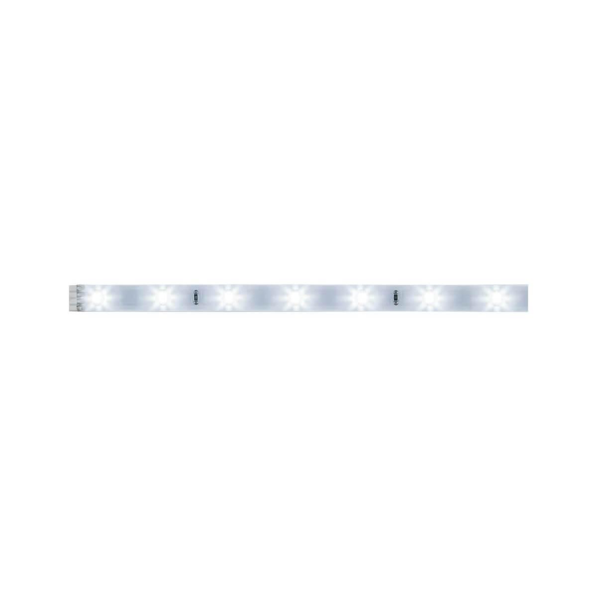 Paulmann YourLED Stripe 97 cm Tageslichtweiß IP44 Weiß, klar beschichtet