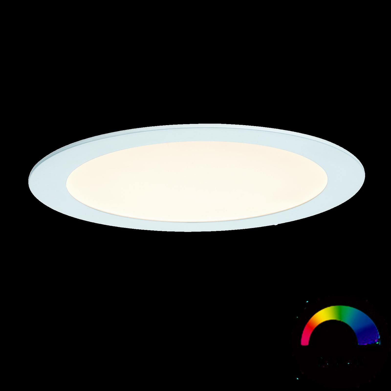 Paulmann LED-Einbaupanel SmartPanel RGB