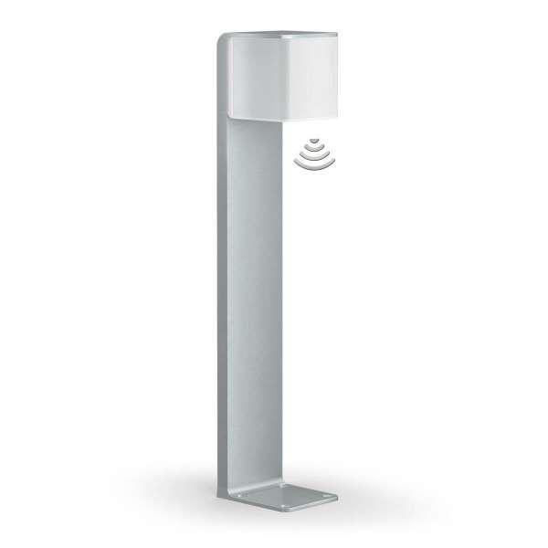 Steinel Wegeleuchte GL 80 LED iHF Cubo, 9,5W, 160° Bewegungsmelder, 5m Reichweite, Bluetooth, IP44