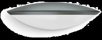 Steinel Sensoraußenleuchte L 825 LED IHF Anthrazit | Sensor-Außenleuchte mit Bewegungsmelder