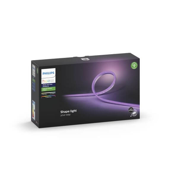 Philips Hue Outdoor Lightstrip LED-Streifen 5m White and Color Ambiance Bluetooth RGBW IP67 flexibel