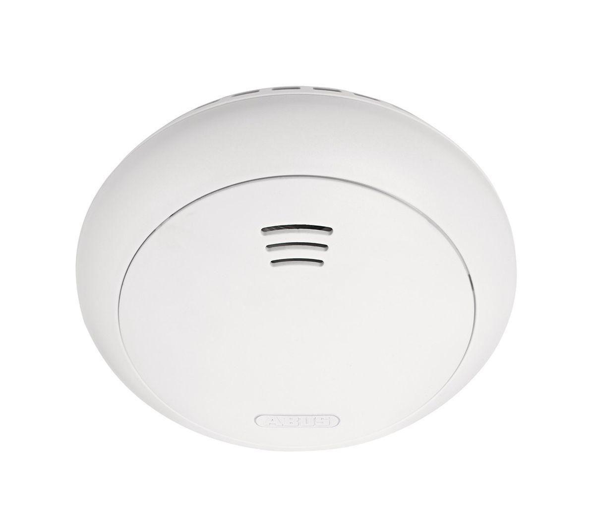 ABUS Smartvest Funk-Rauch-Hitze-Warnmelder Rauchmelder inkl Batterien für 40² Erfassungsbereich