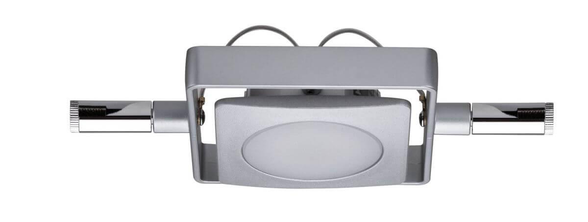 Paulmann Seil-Leuchte, LED, 1x4 W, MacLED 12 V DC, Chrom matt