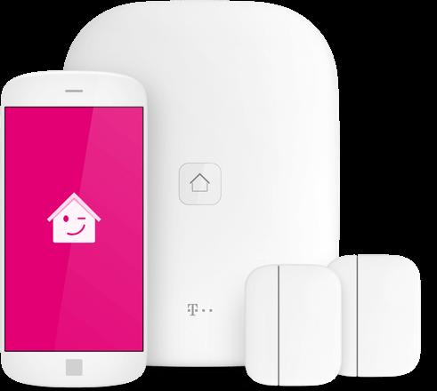 Starter Paket Magenta SmartHome inkl Homebase, 2 Fensterkontakten + App Lizenz für 24 Monate