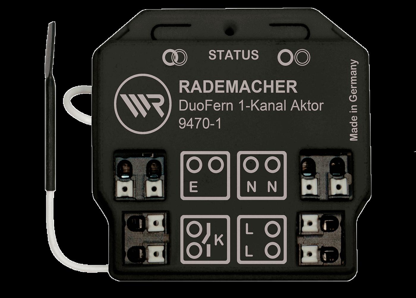 Rademacher Universal-Aktor 1-Kanal Unterputz, bis 3600W, DuoFern-Funk